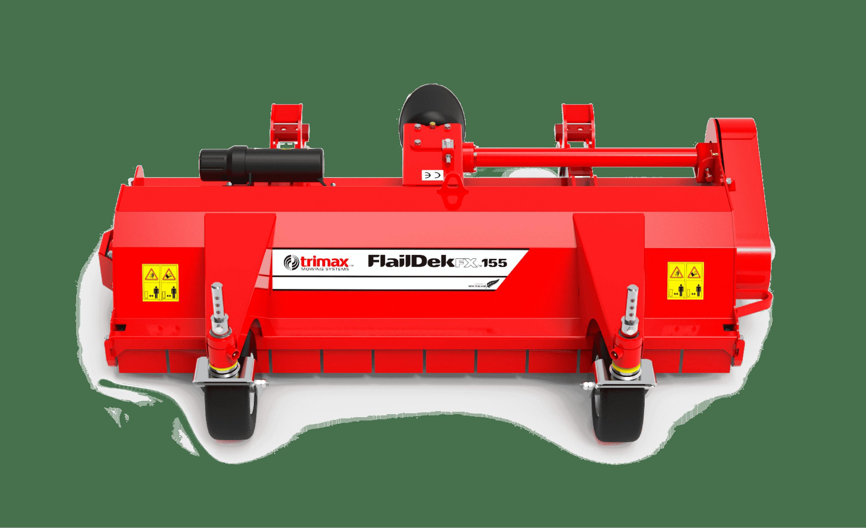 FlailDek FX-155 lawn mower Red