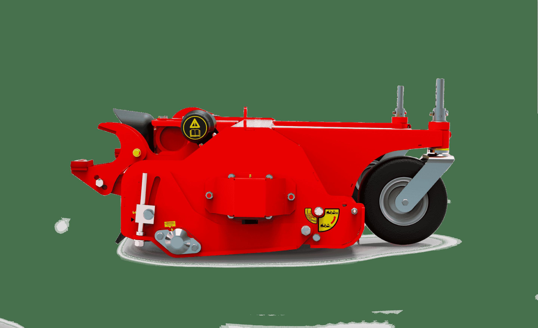 FlailDek FX Sideview Mower Red